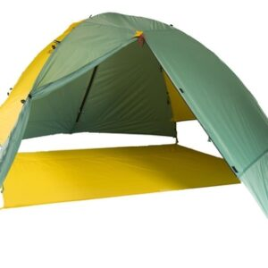 mons peak ix night sky backpacking tent 4p fly footprint front view